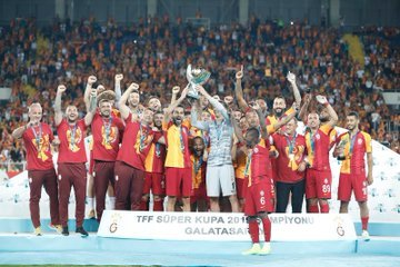 TFF Süper Kupa'nın sahibi Akhisarspor'u 1-0 yenen Galatasaray oldu