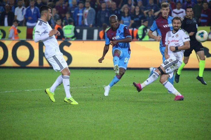 Trabzon, Beşiktaş'ı 4-1 yendi