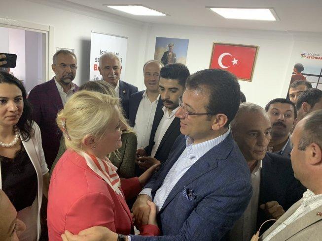 Trakya'nın tek kadın belediye başkanı Becan'dan İmamoğlu'na tebrik mesajı