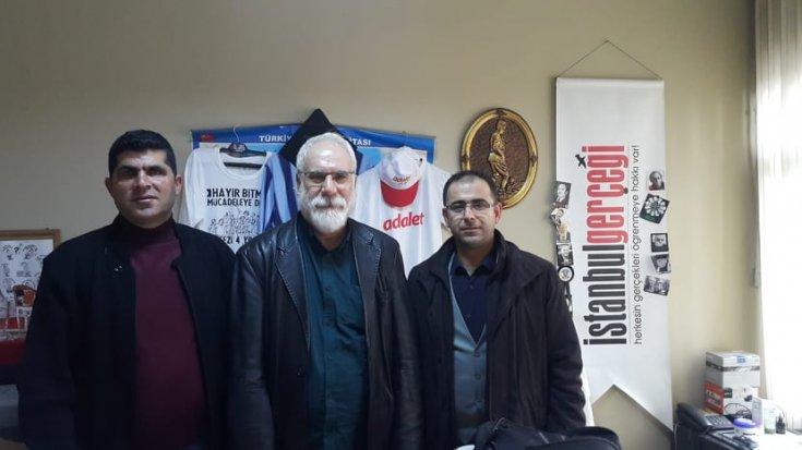Tüm Yerel-Sen Hatay Şube yönetiminden İmambakır Üküş'e ziyaret