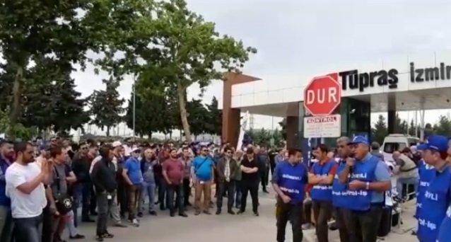 Tüpraş'ta arabulucu sürecinde sonuç çıkmadı: İşçiler mücadelede kararlı