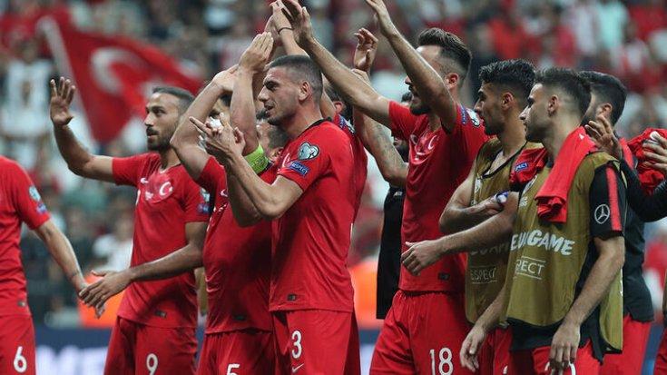 Türkiye A Milli Futbol Takımı FIFA sıralamasında bir basamak yükseldi