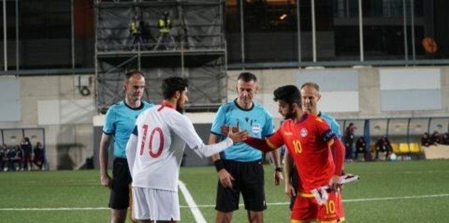 Türkiye, Andorra'ya 2-0 mağlup oldu