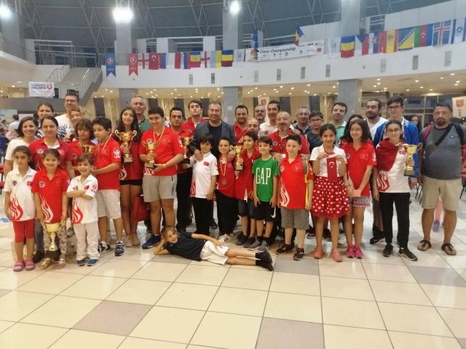 Türkiye, satrançta Avrupa Şampiyonu oldu
