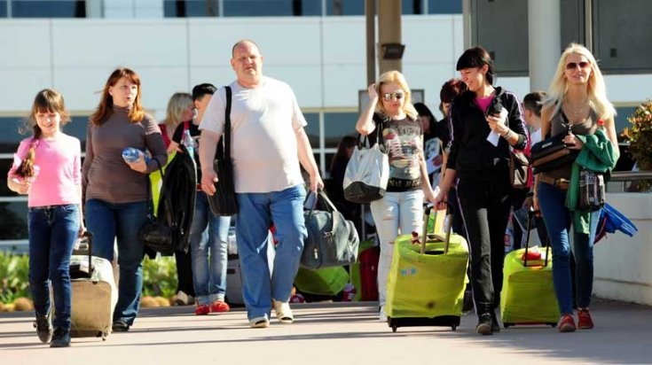 Türkiye'ye gelen yabancı turist sayısı belli oldu