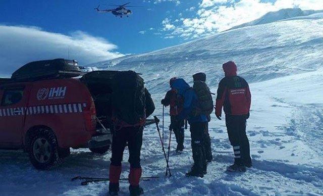 Uludağ'da kaybolan 2 dağcıyı arama çalışmaları 15'inci günde sürüyor