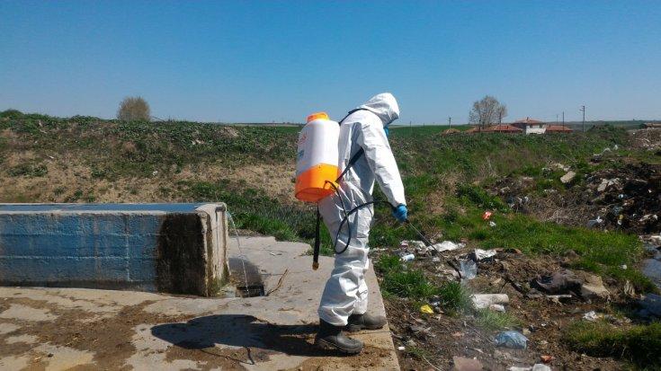 Uzunköprü Belediyesi, sivri sinekle mücadele için çalışmalara başladı