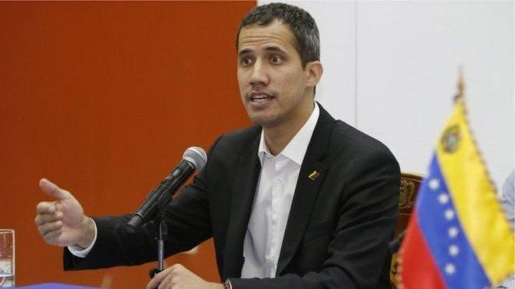 Venezuela'da sağcı lider Guaido'dan, ABD ordusu ile 'iş birliği' talimatı