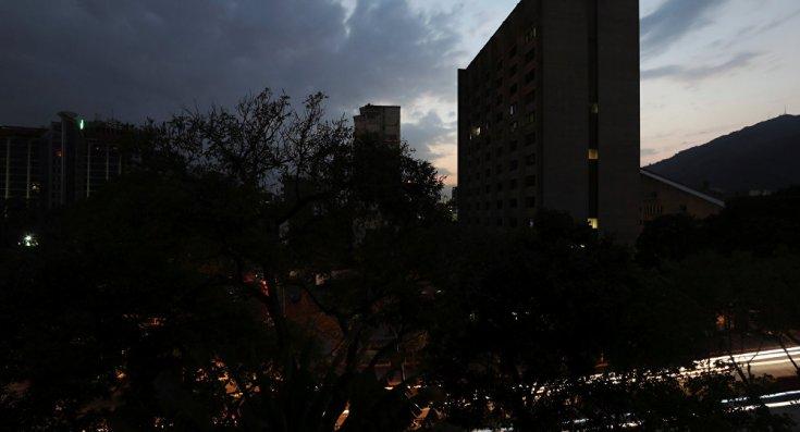 Venezüella elektriğe kavuştu