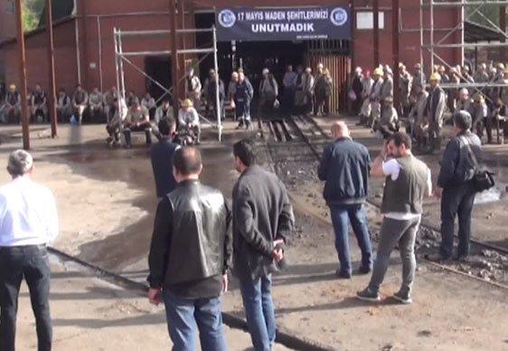 Zonguldak'ta göçük: 1 işçi mahsur