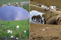 Devlet gözetiminde 12 bin yıllık Dipsiz Göl'ü kurutan iş adamlarının kimliği ortaya çıktı