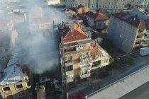 Fikirtepe'de yangın: 2 kişi hayatını kaybetti
