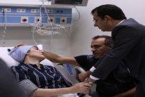 İmamoğlu, Neslican Tay'ın ailesini hastanede ziyaret etti