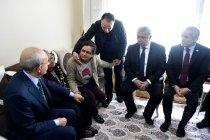 Kılıçdaroğlu'ndan şehit Halil Ulaş Yıldırım'ın ailesine taziye ziyareti