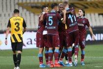 Trabzonspor, AEK'yi  3-1 mağlup etti