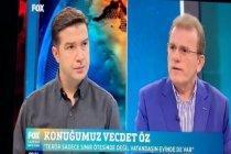 Vecdet Öz: Şu anda AKP'nin  önderlik ettiği ittifakın oy oranı yüzde 30 küsurlarda