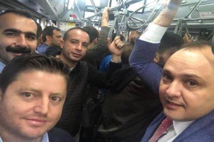 İETT Genel Müdürü Alper Kolukısa ulaşım sorunu olan Sultanbeyli'de otobüse bindi