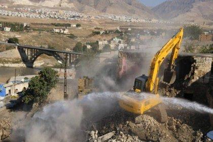 12 bin yıllık Hasankeyf'te 50 yıllık baraj için yıkım sürüyor