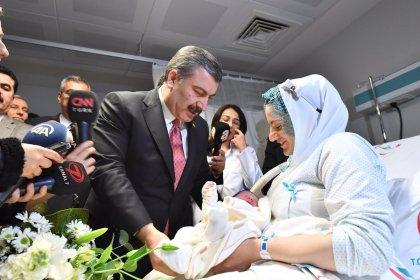 2019'un ilk bebeği İstanbul'da dünyaya geldi