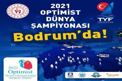 2021 Optimist Dünya Şampiyonası Bodrum'da