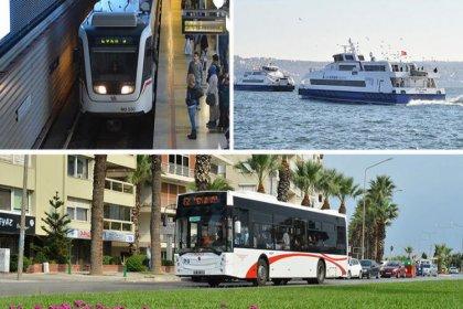 29 Ekim'de İzmir'de ulaşım 1 kuruş