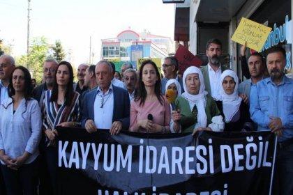 30 gündür devam eden kayyım protestolarında toplamda kaç kişiye para cezası kesildi?