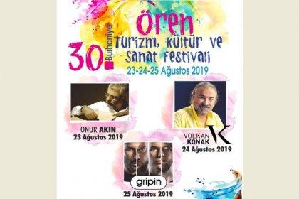 30. Burhaniye-Ören Turizm Kültür ve Sanat Festivali başlıyor