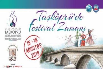 33. Uluslararası Taşköprü Kültür ve Sarımsak Festivali 15 Ağustos'ta başlıyor