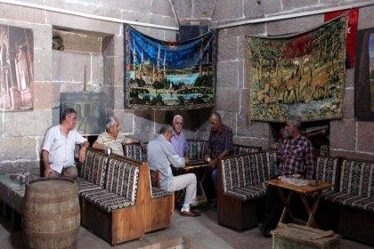 349 yıllık hamam çay ocağına dönüştü