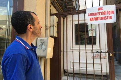 50 yıllık umumi tuvalet 'zarar ettiği' gerekçesiyle kapatıldı!