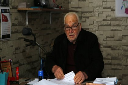 51 yıllık muhtar yeniden aday: Bende muhtarlık mezara kadar