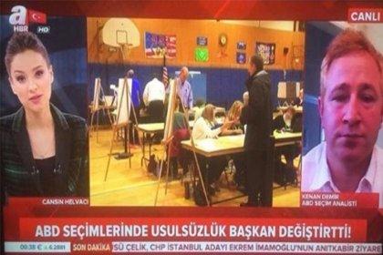 A Haber'in 'seçim analisti' diye canlı yayına çıkardığı kişi kebapçı çıktı
