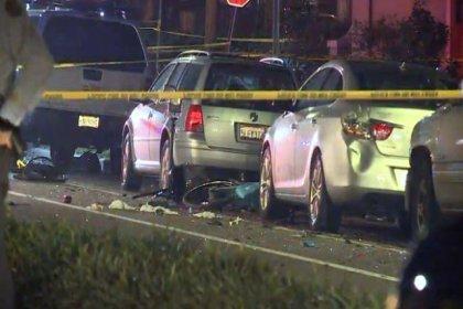 ABD'de araç kalabalığın arasına daldı: 2 ölü, 8 yaralı