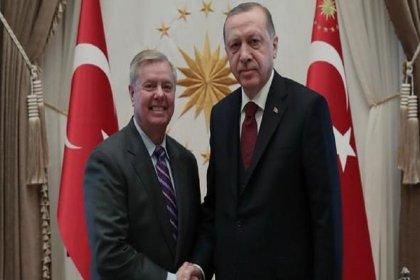 Erdoğan'ın ABD'li senatörle görüşmesi sona erdi