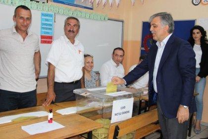 Abdullah Gül: İnşallah her şey memleket için güzel olur