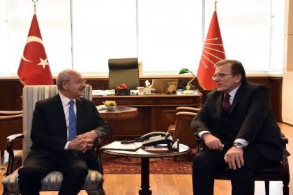 Adalet Partisi'nden Kılıçdaroğlu'na ziyaret