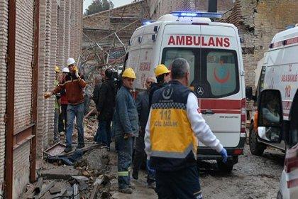 Adana Yeni Arkeoloji Müzesi inşaatında iskele çöktü: 1 işçi yaşamını yitirdi, yaralılar var