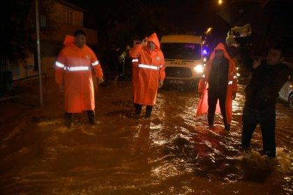 Adana'da 24 saat içinde metrekareye 200 kilogramın üzerinde yağmur düştü
