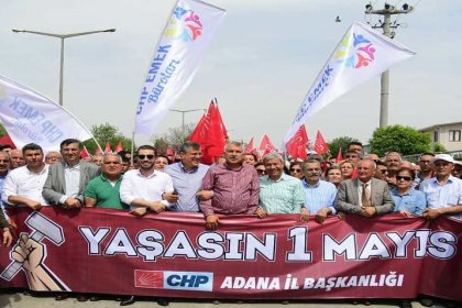 Adana'da tarihi 1 Mayıs: 30 yıl sonra bir büyükşehir belediye başkanı emekçilerle yürüdü