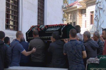 Adliyede intihar eden yazar Seray Şahiner'in eşi İbrahim Özkan son yolculuğuna uğurlandı
