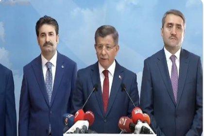 Ahmet Davutoğlu AKP'yi topa tutarak istifa etti: Yeni bir siyasi hareketi inşa etmek bizim için tarihi bir sorumluluktur
