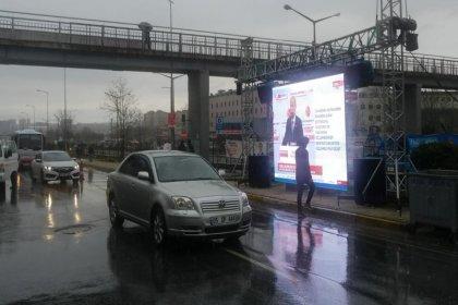 AKP otobana sinevizyon kurdu, A Haber izletiyor!