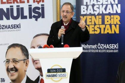AKP'li Özhaseki: Sol zihniyetin tüm dünyada yaptığı belediyeciliği biliyoruz