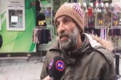 'AKP'ye verdiğim oyu haram ediyorum. Türkiye kalkınıyormuş. Konuşanlar kalkınıyor biz hep batıyoruz'