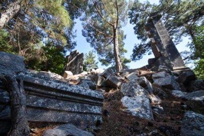 Alanya'daki antik kent talanı Meclis'e taşındı: 'Ne zaman durduracaksınız?'