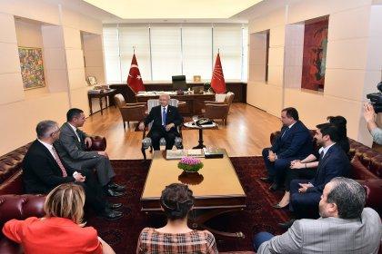Ankara Barosu'ndan Kılıçdaroğlu'na ziyaret