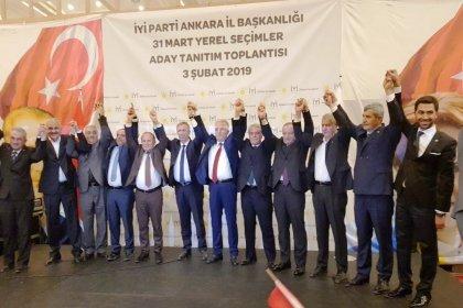 Ankara Büyükşehir Belediye Başkan adayı Yavaş, İYİ Parti'nin aday tanıtım toplantısına katıldı