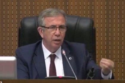 Ankara Büyükşehir Belediye Meclisi'nde önerge tartışması