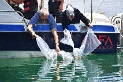 Ankara Büyükşehir Belediyesi göl ve göletlerde balıklandırma çalışmalarını tamamladı