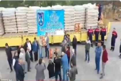 Ankara Büyükşehir Belediyesi'nden çiftçilere destek